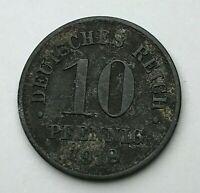 Dated : 1918 - Germany - 10 Pfennig - German Coin - Wilhelm II