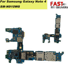 Motherboard/Logic Board Replacement For Samsung Galaxy Note 4 SM-N910W8 Unlocked