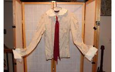 Vintage Nantucket USA Top Blouse Shirt Pin Striped Sz 14 Cotton Long Sleeve
