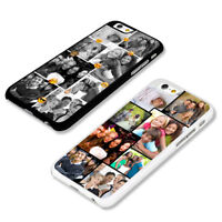 Personalised Custom Photo Collage Hard Plastic TPU Rubber Phone Case Covers