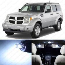 10 x White LED Interior Light Package For 2007 - 2011 Dodge Nitro + PRY TOOL
