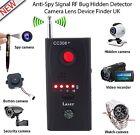 CC308 Anti-Spy Signal Bug RF Detector Hidden Camera Laser Lens GSM Device Finder