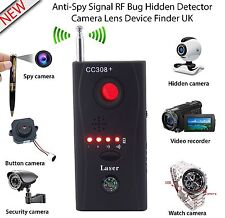 Anti Detector Hidden Camera GSM Audio Bug Finder GPS Signal Lens RF Tracker ES