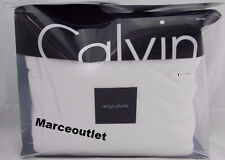 Calvin Klein Home Modern Cotton Body Jersey KING Duvet Cover White