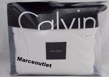 Calvin Klein Home Modern Cotton Body Jersey FULL / QUEEN Duvet Cover White