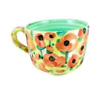 Poppies Large Mug Made for Museum of Fine Art Boston Made in Italy 20 oz.