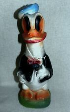 Vintage Donald Duck Chalkware Glitter Carnival Prize Dated 1948 Wwii Cass Fair