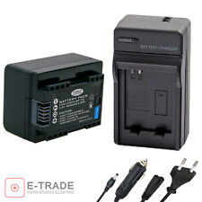 NEW CHIP Battery + CHARGER- for Canon IXIA HF M56 IXIA HF R306 LEGRIA R36 BP-718