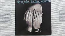 """Elton John curación manos Extended Remix (RARO/casi Nuevo) Original 1989 Reino Unido 12"""""""