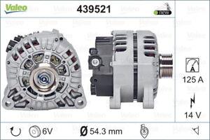 Valeo Alternator 439521 fits Citroen C4 Picasso 2.0 i 16V (UD) 103kw