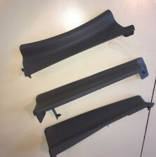 Jeep Cherokee XJ / Gray Interior Lower Seat Trim / Drivers Side / 84-96