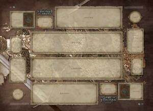 A Game of Thrones LCG: Westeros Two-Player Playmat