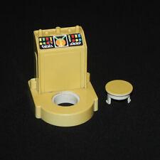 Playmobil playmospace station de contrôle jaunie de la station spatiale 3536