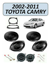 Fits Toyota Camry 2002-2011 OEM Speaker Replacement Combo Kit, PIONEER