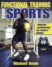 Functional Training for Sports by Michael Boyle Athletic Conditioning FREE SHIP!