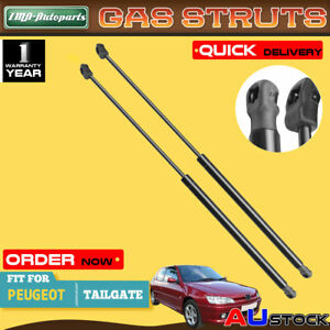 New Pair Tailgate Gas Struts for Peugeot 306 1994-2001 Hatchback 873193