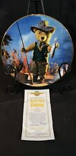 """Hamilton Collection """"Let's Go Fishing"""" Limited Edition Collector's Plate"""