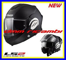 Casco Ls2 Ff399 Valiant Single mono Modulare Black Matt Nero opaco Mis. L