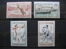 FRANCE neufs n° 1161 à 1164 (1958)