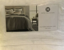 Hotel Collection Linen Full/Queen Duvet Cover, White $335