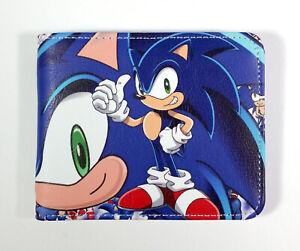 Sonic The Hedgehog multicolored bi-fold game Wallet