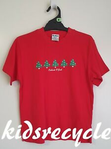 OSH KOSH B'GOSH (OKB) Christmas T-SHIRT Top (Red) > Size 4 (pick-up welcome)