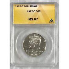 1997 D Kennedy Half Dollar ANAS MS67 #312242