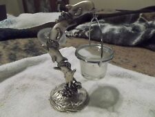 Porpoise Candle Holder W/ Tea Light Candle