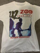 Vintage U2 Tour Shirt & Ticket 92' Zoo Tv