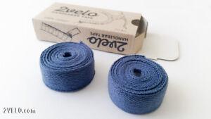 2Velo TOP COTTON Vintage HANDLEBAR TAPE vintage blue