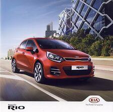 Kia Rio 2014 catalogue brochure polonais Poland