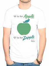 Official The Beatles A Is For Apple T-Shirt McCartney Lonely Hearts White Album