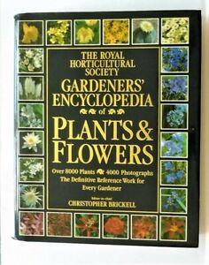 RHS GARDENERS' ENCYCLOPEDIA OF PLANTS AND FLOWERS - 1992 HARDBACK