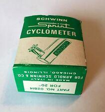 "NOS SCHWINN SPRINT 20""  BICYCLE CYCLOMETER PART No.02 814"