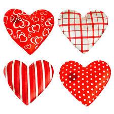 Taschenwärmer 4-er Set Herzen mit versch. Motiven. Handwärmer