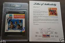 BEACH BOYS All 5 Signed CD BRIAN WILSON LOVE JOHNSTON JARDINE MARKS PSA/DNA Auto
