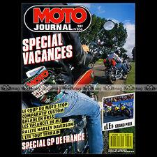 MOTO JOURNAL N°856 HONDA 1100 SHADOW KAWASAKI 1500 SUMO SUZUKI 1400 INTRUDER '88