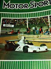 1974 SILVERSTONE INTERNATIONAL JAMES HUNT HESKETH 308 F1 + MERCEDES 450SL TESTED