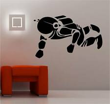 SPACEMAN wall art sticker vinyl SPACE KIDS CHILDRENS