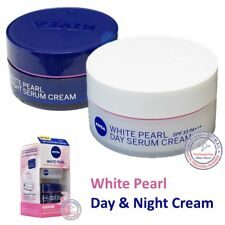 Nivea White Pearl Day Serum Cream SPF33 & Night Serum Cream Whitening Duo Pack