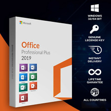 Microsoft Office 2019 Professional plus 32/64 bits license key Original