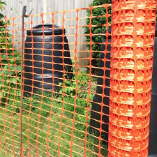 Orange Plastic Barrier Mesh - Dog, Pet, Chicken, Event, Fencing 5.5kg - 1m x 50m