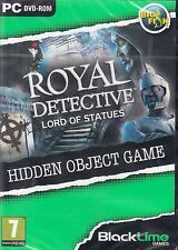 Royal Detective Lord of Statues Hidden Object Game by Focus Mul..NEW(PC DVD-ROM)