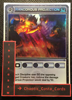 RANCOROUS PROJECTION - ATTACK - CHAOTIC CARD - SUPER RARE - TCG - CCG - N/M