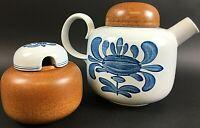 Villeroy & Boch Chekiang Kanne Zuckerdose Teekanne Kaffeekannte Vintage  FFC5