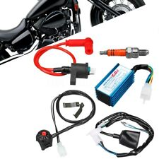 Wiring Harness Loom Coil CDI Kit 50 70 110 125 150cc Dirt Bike Moped Scooter