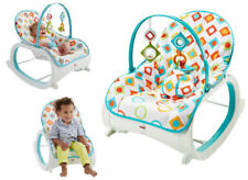 Infant-to-Toddler Rocker Baby Bouncer Chair Relax Feeding Newborn Seat Toy Bar