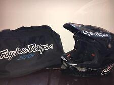 Troy Lee D3 Carbon Fibre Full Face Helmet Medium- Black Mountain Bike BMX