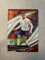 2020 Select White Prizm Dele Alli Serial #d /60 SP Field Level UEFA Euro England
