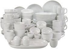 Creatable 80-piece Vajilla De Servir plato de cocina de casa dishwasher/microwave seguro